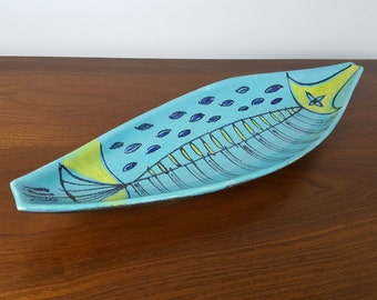 Aldo Londi Bitossi Raymor Style Tray