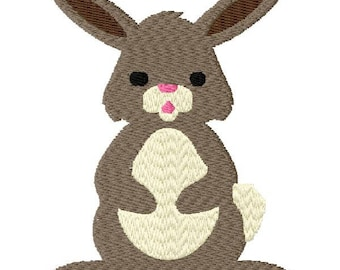 Bunny Embroidery Design - Instant Download