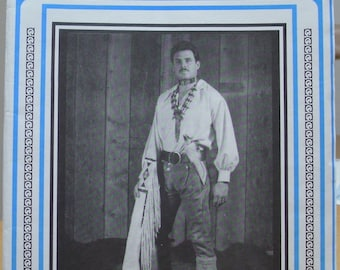 Eagle's View PM97 Frontiersman leather accoutrement sewing pattern