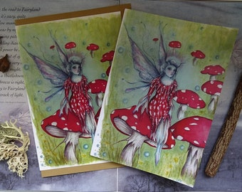 The Faerie Ring Notebook and Matching Art Card Set