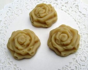 Oatmeal Goat Milk Soap - 3 Roses per order