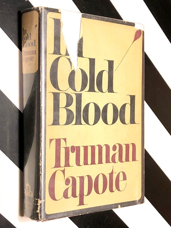 In Cold Blood by Truman Capote (1965) hardcover book