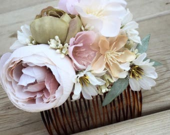 Garden Wedding Hair Comb