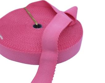 "3 yds Pink Plush Back Waistband Elastic - 1"" wide (AC41P)"