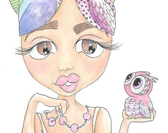 """Owl be there - """"A4"""""""