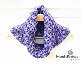 Jenny Cowl - a knitting pattern - PDF for Instant Download