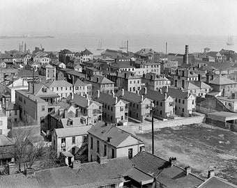Charleston South Carolina 1910 Photo