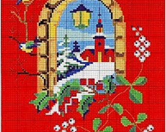 Permin Danish Cross Stitch Pattern Christmas Imported