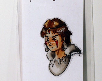 Princess Mononoke Studio Ghibli Hand-Made Sticker