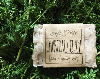 CHARCOAL & CLAY Face + Body Bar