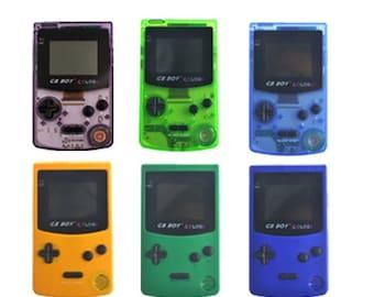 Game Boy Color Clone   Backlit