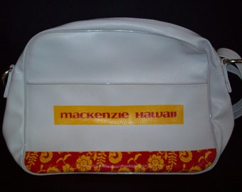 Vintage Airline Travel Bag Mackenzie Hawaii Tours
