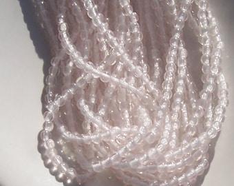 Light Rosaline 3mm  Round Czech Glass  Beads 100pc #MC5
