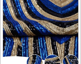 luxury sequin embroidery fabric