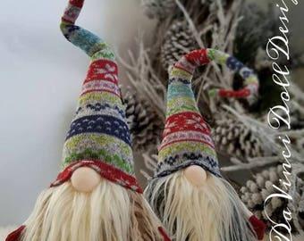 Tomte Nisse Nordic Gnome Santa Christmas decoration  DaVinciDollDesigns Original Collection©