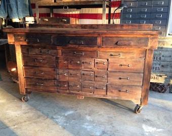 Vintage Primitive Hardware Counter ***Local Pickup Only****