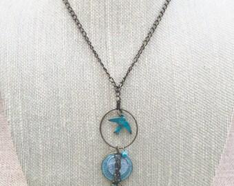 "The Gypsy - Long 30"" Festival-Length Boho Charm Necklace"