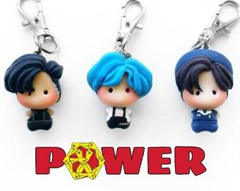 EXO Power Chibi Keychain Zipper Charms