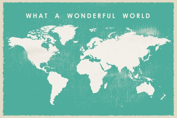 What a wonderful world map printable world map big size what a wonderful world map printable world map big size world map 36 x 48 inch world map mint world map gumiabroncs Images