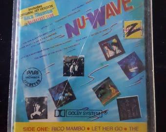 NU-WAVE (various artists) - Vintage Cassette Tape
