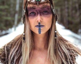 Amazon Warrior Goddess Crown