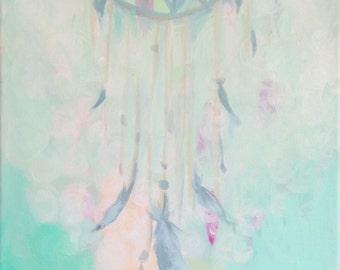 Dream 12'' x 12'' Original Acrylic Painting on Canvas