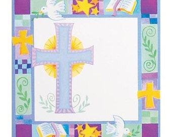 Paper Napkins for Baptism,  Baptism Plates Napkins for Decoupage or Parties