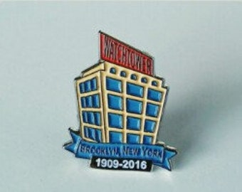 JW.org pin for Jehovah's witnesses JW gift Brooklyn bethel commemorative pin