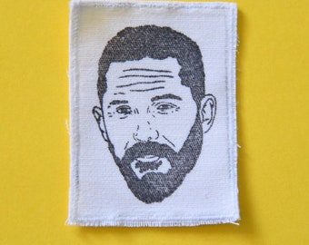 Tom Hardy sew on patch, 2 inch patch, hand stamped