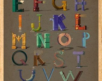 Complete Robot Alphabet