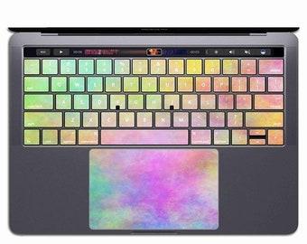 Rainbow MacBook Keyboard Cover | MacBook Keyboard Skin Sticker MacBook Keyboard Decal Pro Keyboard Case Air Keypad Retina 13 15 11 12 KS 130