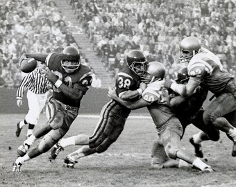 Digital Print of OJ Simpson in 1968 USC-UCLA Football Game