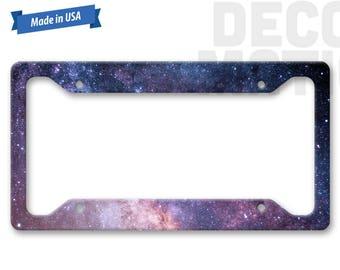 Space License Plate Frame - Custom LP1341