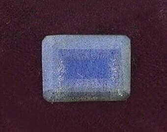 8x6 emerald cut labradorite gem stone gemstone