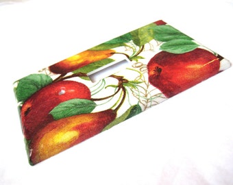 Pear and Fruit Orchard Light Switch Cover Plate Wall Art Home Decor