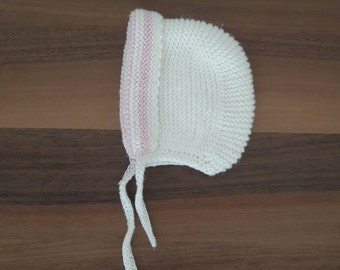 Ready to ship newborn bonnet