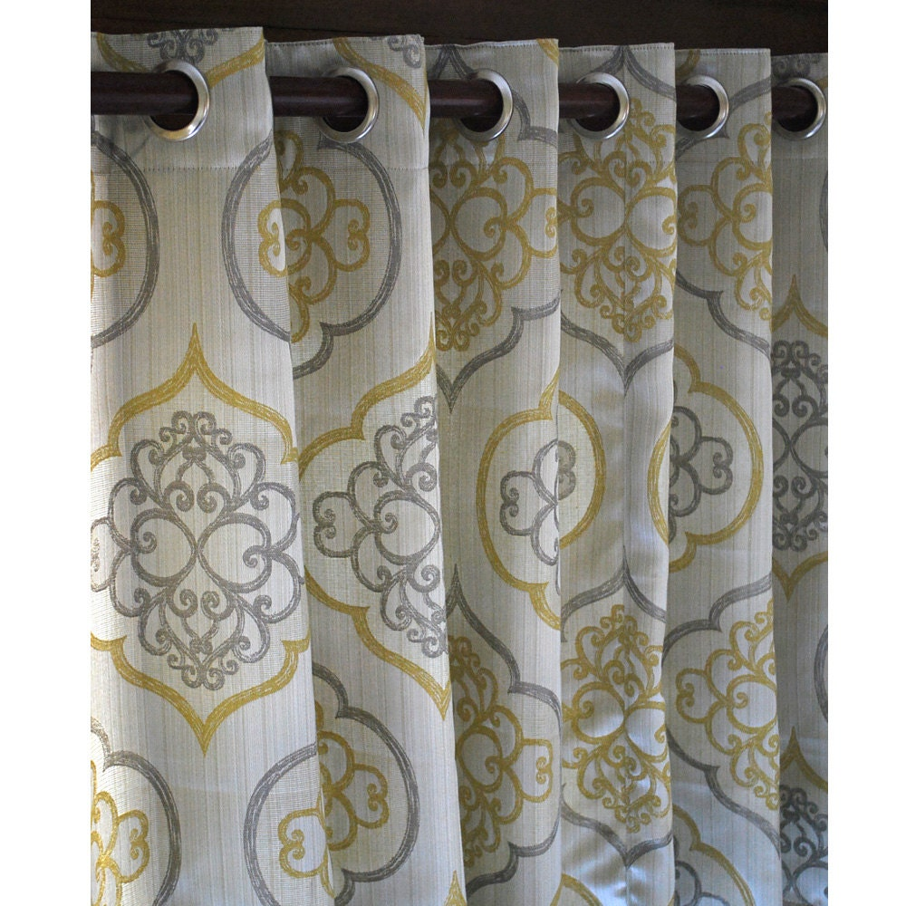 in decorations kitchen home shades from modern one geometric fabric curtains garden bedroom printed blackout item drapes window panels