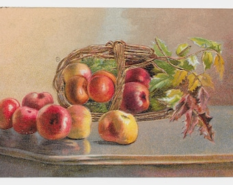 Still Life with Apples Postcard, 1909