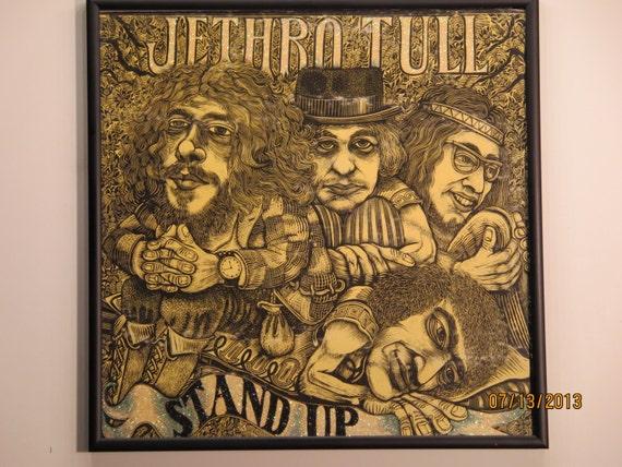 Glittered Record Album - Jethro Tull - Stand Up