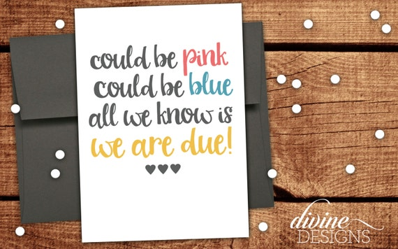 Could be pink could be blue all we know is we are due new like this item stopboris Choice Image