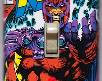X-Men Light Switch Cover Plate - X-Men 1 Magneto Marvel Comics FREE SHIPPING