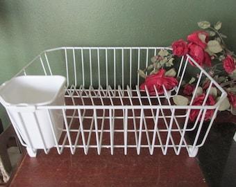 Vintage Rubbermaid Drainboard Mat Dish Drying Rack Drainer