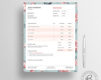 The Nelson Invoice Template Receipt MS Word - Create an invoice in microsoft word dress stores online
