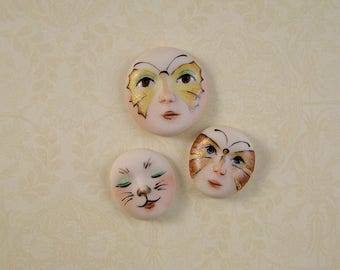 Face Embellishment set of 3
