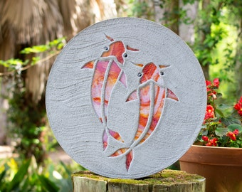 Koi Fish Goldfish Stepping Stone #757