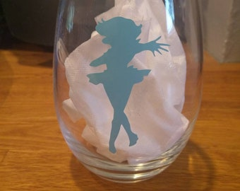 Sailor Mercury wine glass