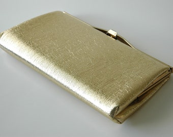 Gold Lamé Clutch