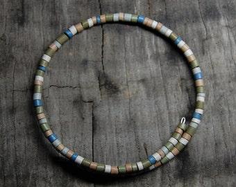 colombian clay beaded bracelet
