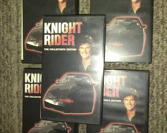 Knight Rider collectors edition vhs vintage new