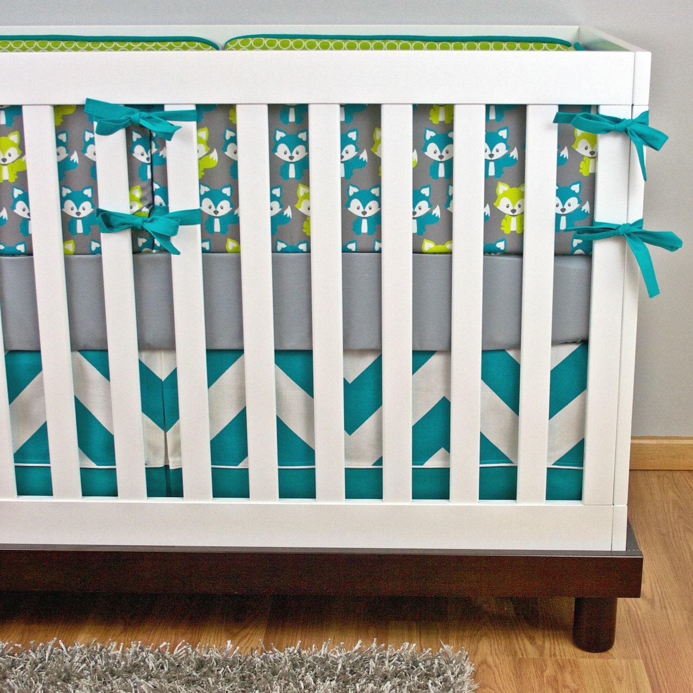 Fox Crib Bedding Nursery Baby Set